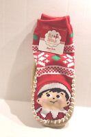 Elf On The Shelf Christmas Slipper Socks Slippers Toddler Boy Or Girl 2t - 3t