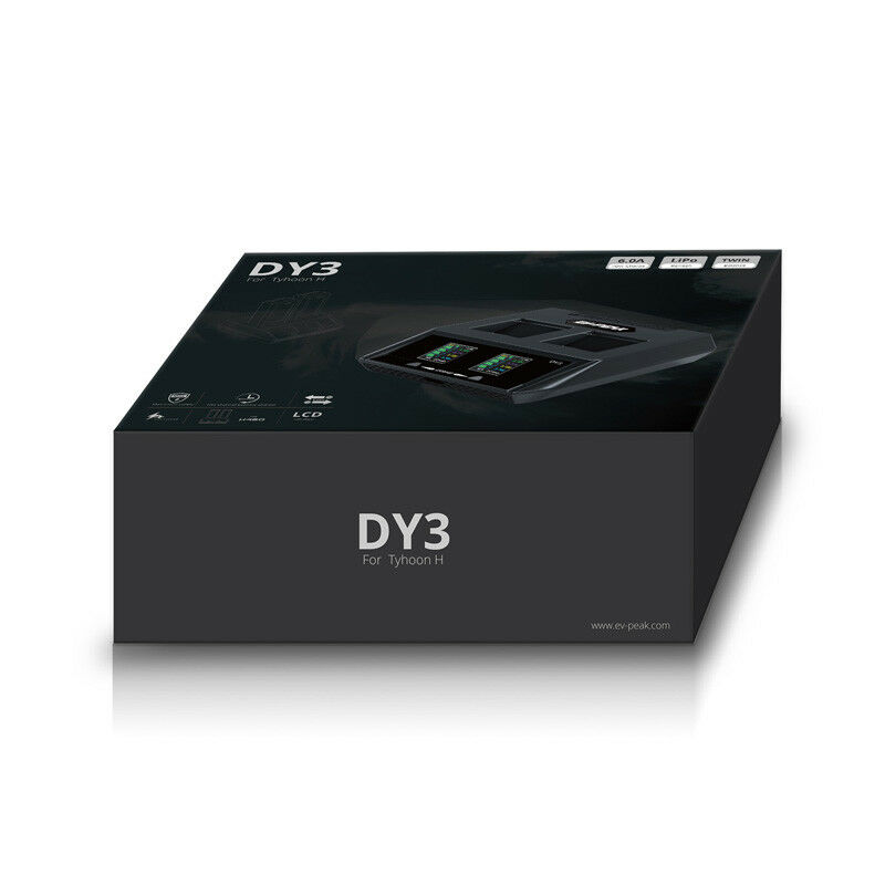 EV-PEAK DY3 2 in 1 Lipo battery  Charger  For YUNEEC H480 Typhoon H Accessories  negozio di moda in vendita