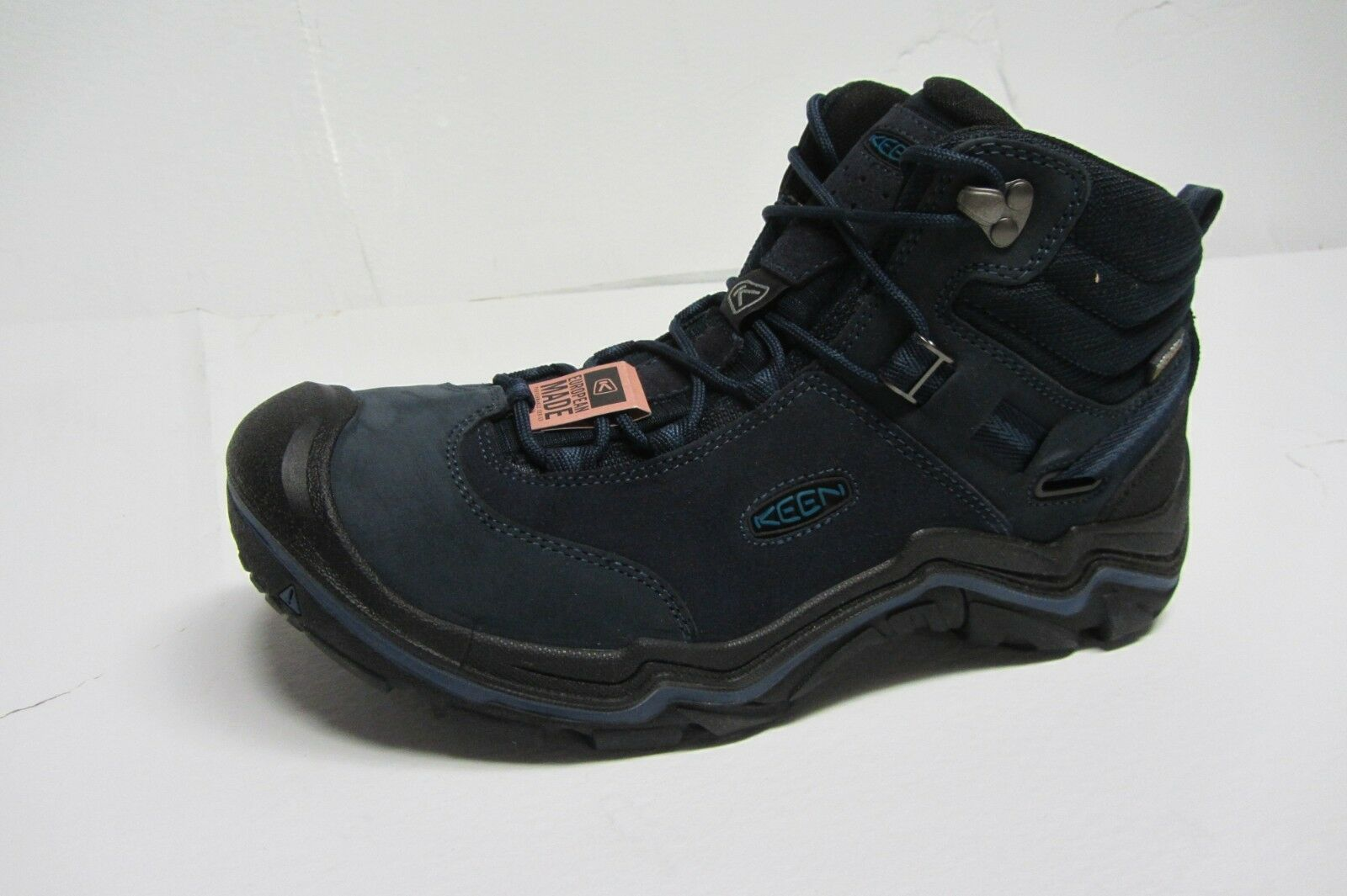 adf1775c1c0d New Keen Wanderer Mid WP Men s Hiking Boots US US US Size 9.5 color Dark  Sea ...