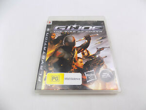 Mint-Disc-Playstation-3-Ps3-G-I-Joe-The-Rise-of-Cobra-Free-Postage