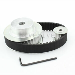 HTD5M 36/12 Teeth W-16mm Pitch-5mm Timing Pulley Belt set kit Reducer Ratio 3:1