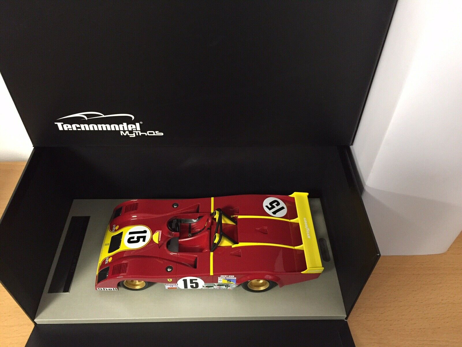 Ferrari 312 PB Le Mans 1973  15 Tecno Tecnomodel 1 18