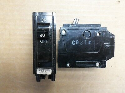 GE THQL THQL1115 1 pole 15 amp Circuit Breaker old style