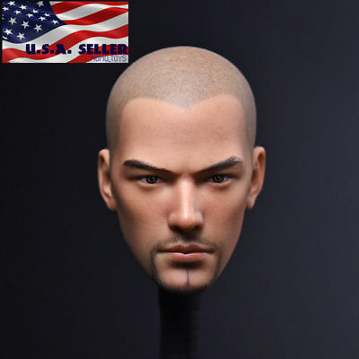 "1//6 Holy Monk Bare Head Dou Zhanshen For 12/"" Male Body Hot Toys Phicen ❶USA❶"