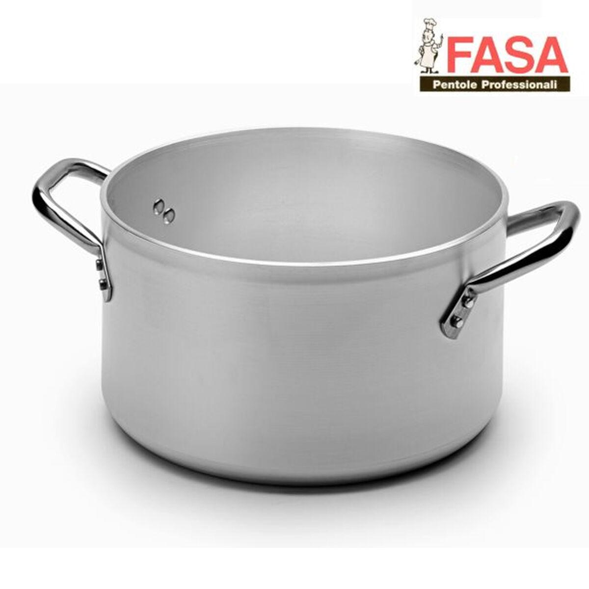 Casseruola Alta Due Maniglie professionale della FASA diametro 28cm in alluminio