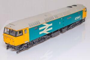 Heljan-4668-00-Gauge-Class-47-Diesel-Loco-47847-BR-Large-Logo-Blue