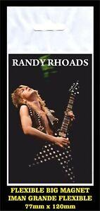 Randy-Rhoads-FLEXIBLE-BIG-MAGNET-IMAN-GRANDE