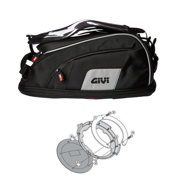 Superbike 848 Evo Bj.11-13 Motorcycle Ducati Givi Tank Bag Set 15L Tankbag