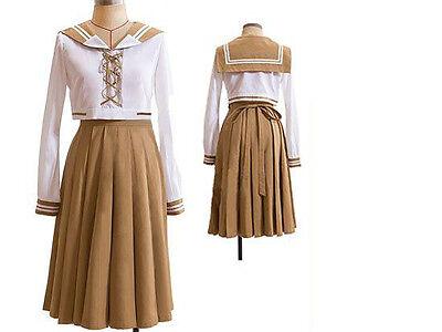 Sailor Moon Mako School Uniform Cosplay Costume NEW
