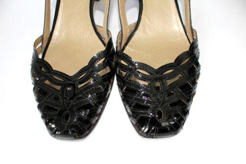 Gr Echtleder Progetto Lackleder Leder Italy Sandale Pumps 38 Sandalette Z77WpYF6
