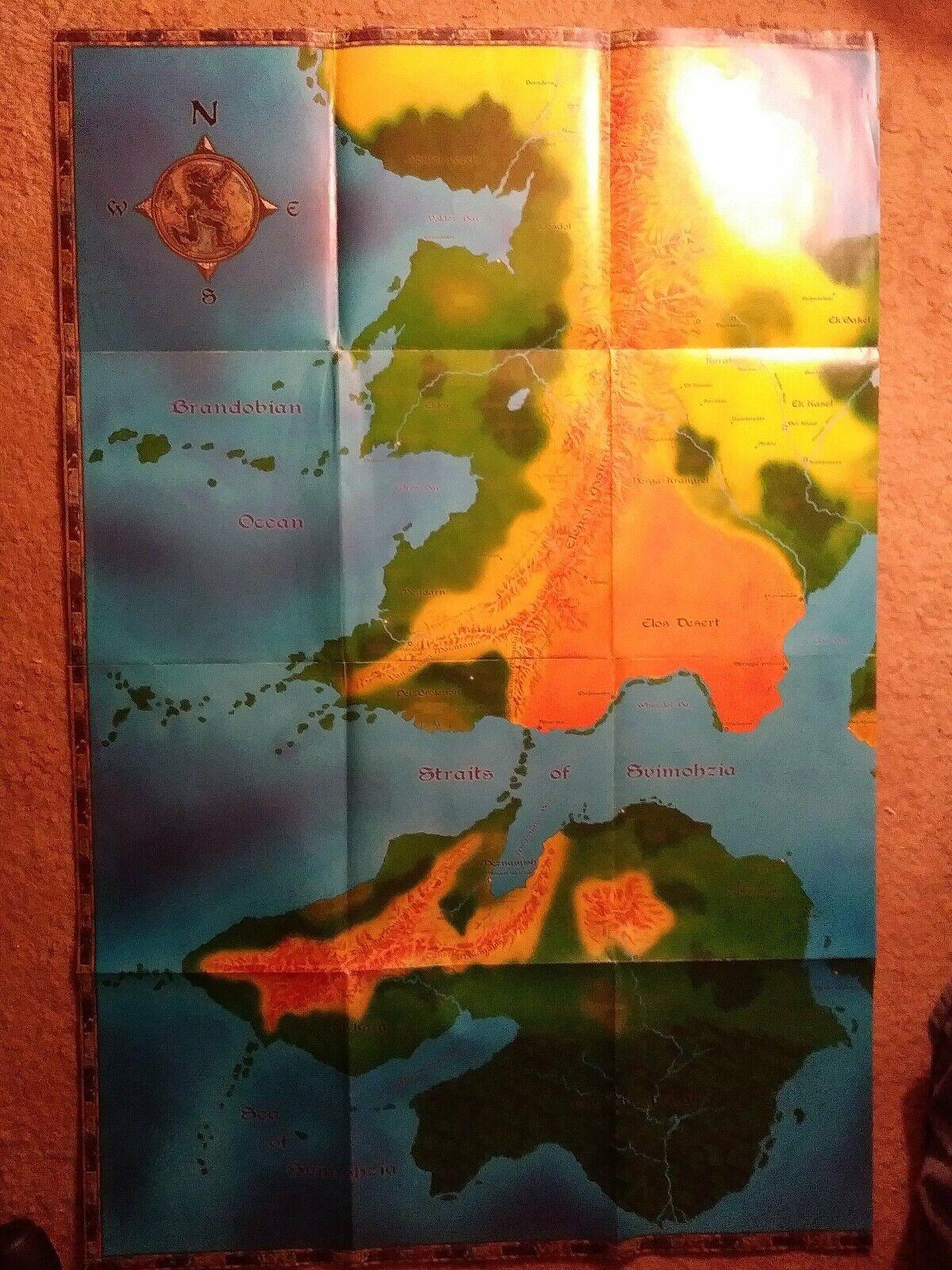 HUGE poster for Salt & Sea Dovs  Pirates of Tellene Elos Desert Svimohzia
