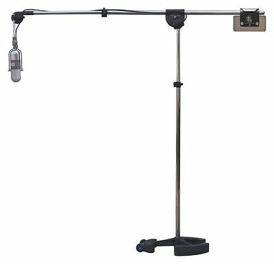 Latchlake Music MicKing 2200 Professional Microphone Mic Stand Heavy Duty, New!