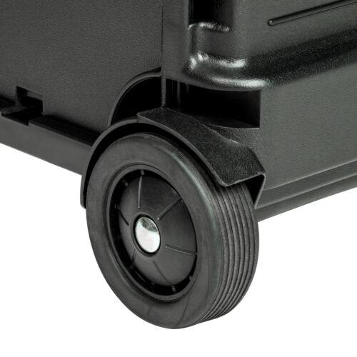 Chariot de courses pliable 35kg trolley de shopping avec 2 roues