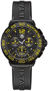74743b9d903 TAG Heuer Mens Formula 1 Analog Display Quartz Black Watch CAU111E ...