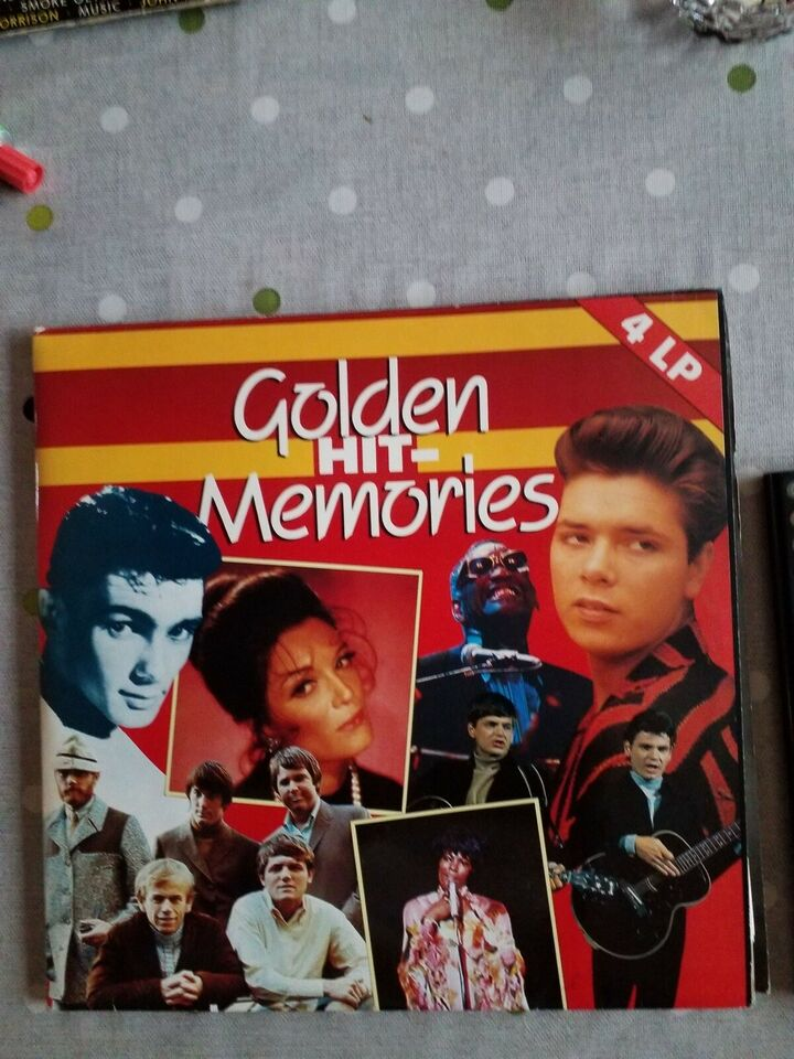 LP, GOLDEN HIT MEMORIS 4 LP'ER, 4 lp'er