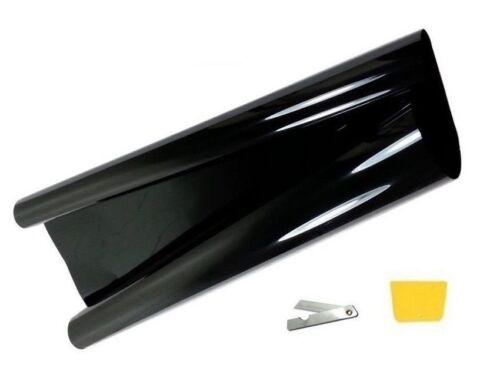 Tönungsfolie 75 300 Sonnenschutzfolie  schwarz 1/% Autofolie Sonnenschutzfolie