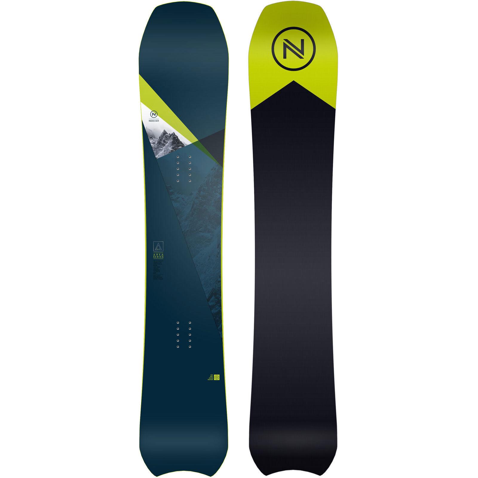 Nidecker Área Hombres Snowboard Freeride Alpino All Mountain 2019 Nuevo