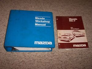 Superb 1991 Mazda Rx 7 Rx7 Workshop Shop Service Repair Manual Wiring Wiring 101 Orsalhahutechinfo