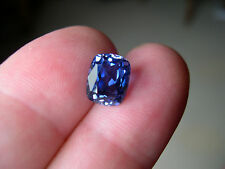 SUPERBE TANZANITE VERNEUIL COUSSIN 10x8mm...IF