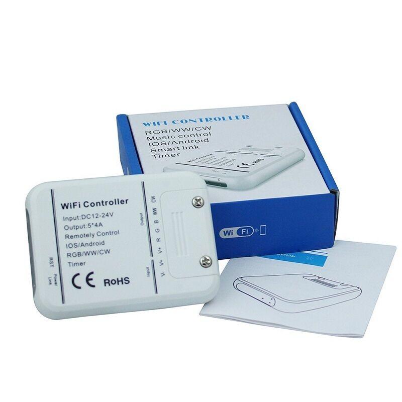 WIFI WLAN LED LED LED Controller RGB RGBW RGBWW 5 Kanal Smartphone Music Timer 5x4A 20A  | Ausgezeichnete Leistung  e8a57a