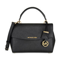 Michael Kors Leather Crossbody Satchel