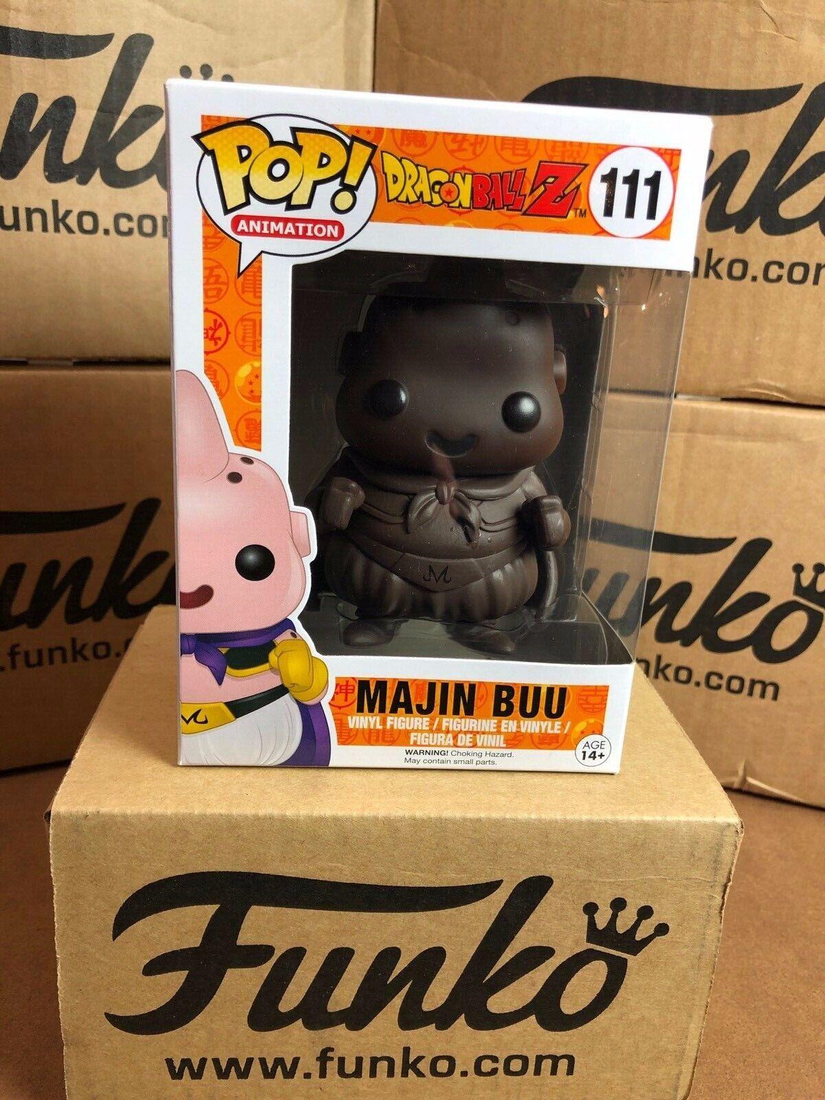 Funko POP  Dragonball Z MAJIN BUU Chocolate Vinyl Figure & Predector