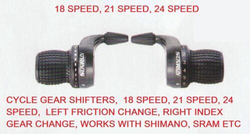Bicycle Grip Shift SR SUNRUN Gear Shifters Shimano /& SRAM compatible bike cycle