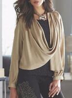 Womens Midnight Velvet Gold Shimmer Charmeuse Jacket Size Large