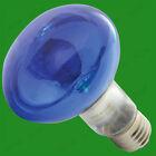8 x 60W R80 coloré Réflecteur à variation Disco Ampoules Spot Éclairage ES E27