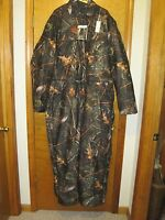 Wfs Element Gear Burly Camo Mens Insulated Coverall Hunting 4xl Tall