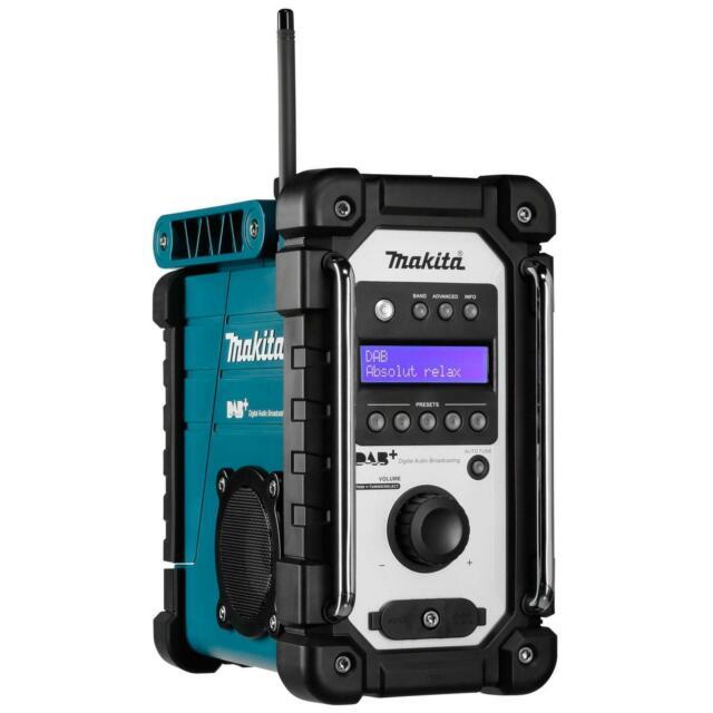 Makita DMR 110 blau DAB+ Baustellenradio