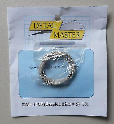 1//24 Detail Master DM 1305 Braided line #5 1ft.