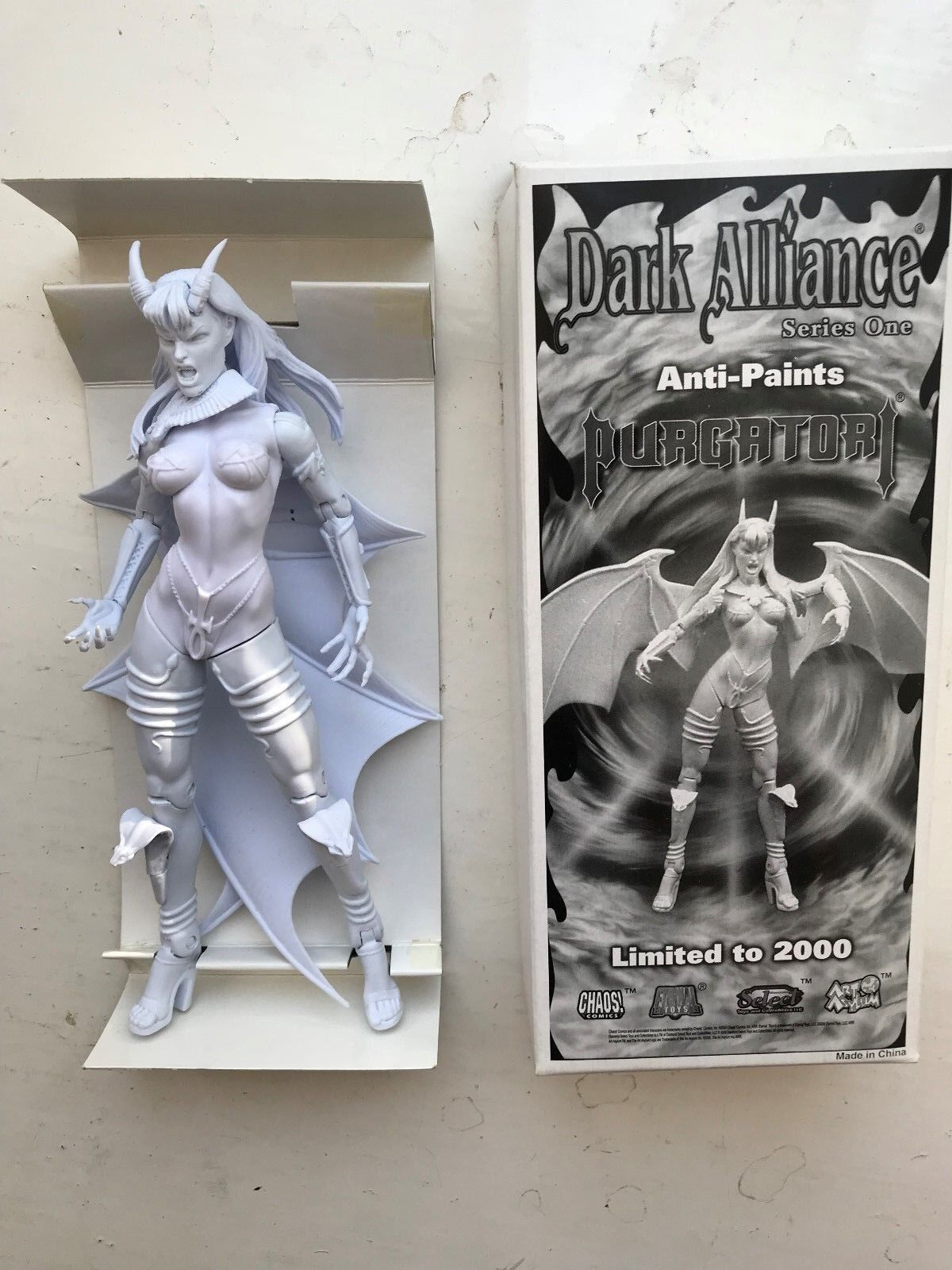 BNIB BNIB BNIB CHAOS DARK ALLIANCE SERIES 1 BRIAN PULIDO'S PURGATORI ANTI-PAINTS FIGURE 834