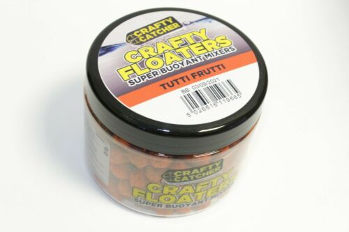 CRAFTY CATCHER CRAFTY FLOATERS SUPER BUOYANT MIXERS VARIOUS FLAVOURS AVAILABLE