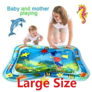 Inflatable-Baby-Water-Mat-Novelty-Play-for-Kids-Children-Infants-Tummy-Time-US