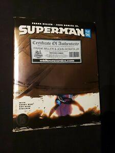 Superman Year One Hardcover HC Signed by Frank Miller & John Romita Jr. DC