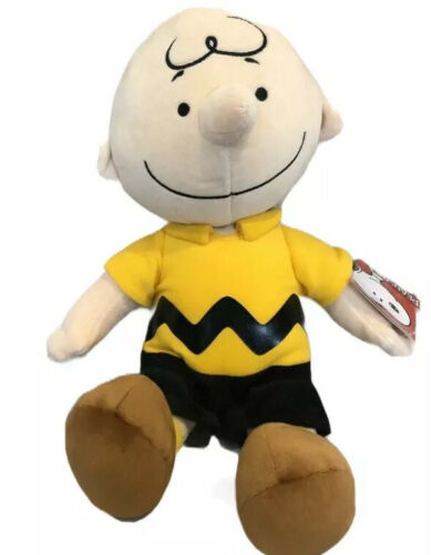 "Peanuts Charlie Brown Kohls Cares Plush Doll Stuffed Soft Collection Toy 9/"" Gift"