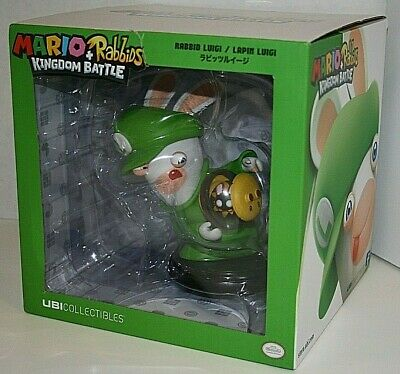 new Rabbids Kingdom Battle Mario Rabbid Luigi 6'' Figurine