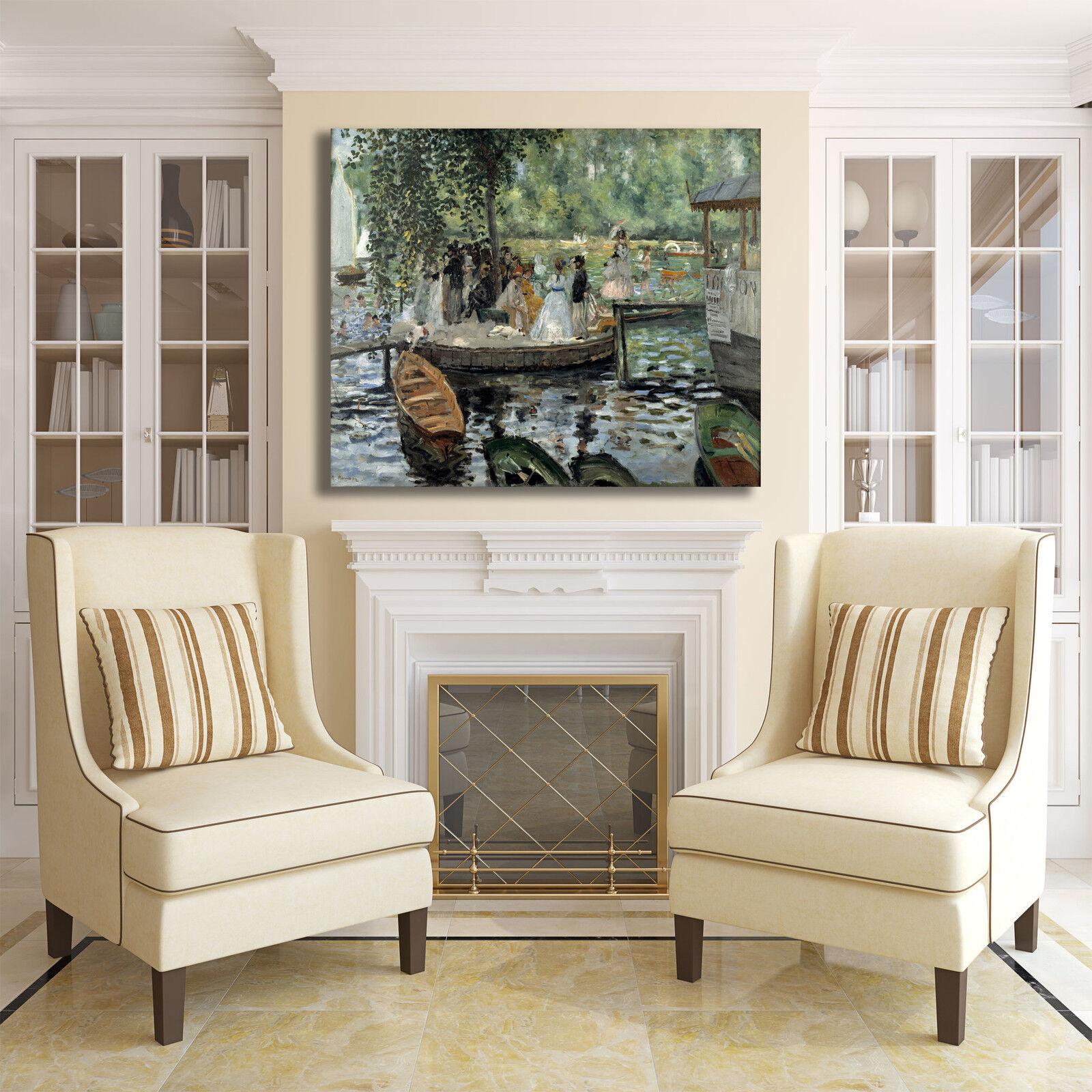 Renoir il fermo design quadro telaio stampa tela dipinto telaio quadro arRouge o casa b3263e