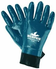 Mcr Safety 9786l Predalite Nitrile Rubber Fully Coated Gloves With Pvc Safety