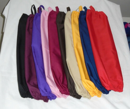 Solid Color Design Homemade Fabric Plastic Grocery Bag Holder