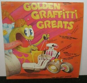 GOLDEN GRAFFITTI GREATS CHUCK BERRY GENE CHANDLER (VG+) 5000 LP VINYL RECORD