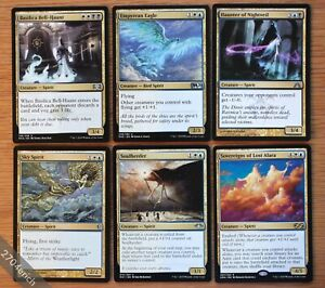 Lot-of-6x-Different-Gold-Multicolor-Spirit-Creatures-NM-Magic-MTG-Soulherder