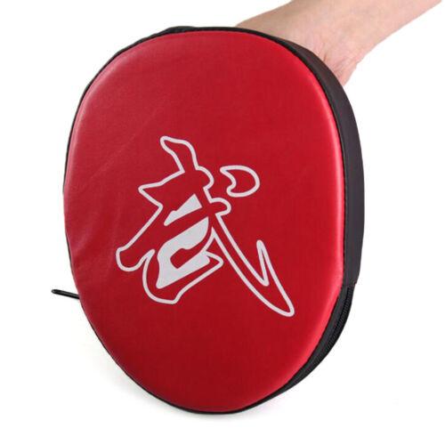 Boxing mitt training target punch pad glove focus karate combat thai kick u BJ