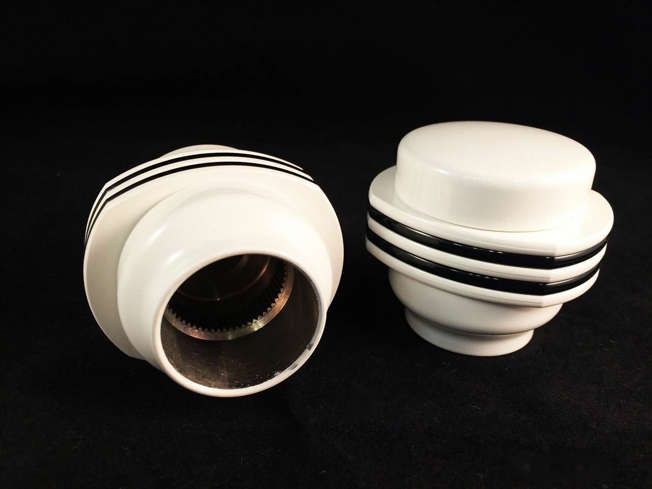 Ricambio coppia maniglie per gruppo Florida serie 20613 bianco Grohe 18996L00