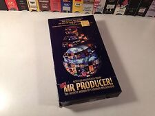 Hey Mr. Producer! Selected Highlights Rare Musical VHS 1998 Cameron Mackintosh
