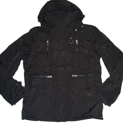 Herren Winter Jacke *schwarz* Winterjacke Parka Gr.M-XXL Herrenjacke #D-1506A