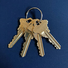 4 Schlage Sc1 House Keys Cut By Code Random Key 5 Pin Punched Free Tracking