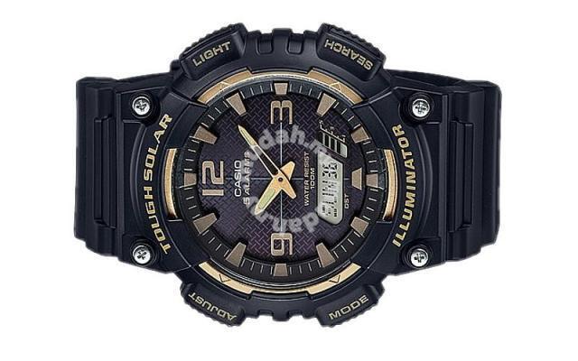 5ea8fa177cce Casio Watch Tough solar negro de los hombres Aq-s810w-1a3