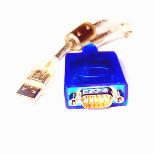 USB 2.0 to Serial RS232 Male Adapter Converter DB9 9 Pin Port Cable with CD